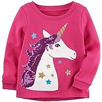 Carter's Company Pink Unicorn Sweatshirt. 3 Months