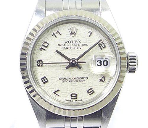 ロレックス デイトジャスト Ref79174 A番 SS/K18WG 自動巻き コンピューターアラビア文字盤 レディース腕時計 [中古]