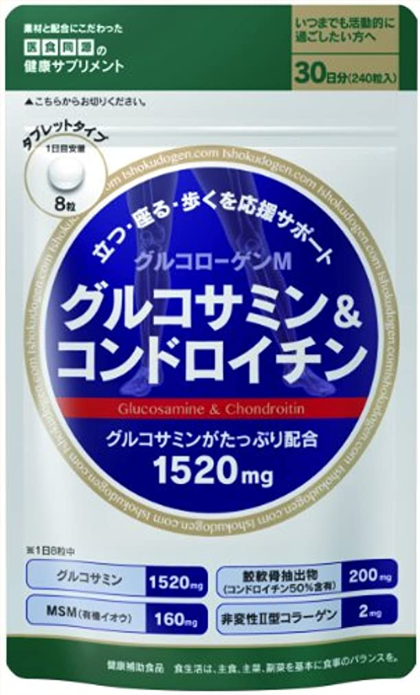 土シソーラス乱用医食同源ドットコム グルコサミン&コンドロイチン 300mg×240粒
