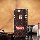 ルイ・ヴィトン パリキャットウォークモデルTPU ルイ・ヴィトン IPhone7 , IPhone7 Plus CASE ケース スマホケース・ 手帳型 携帯カバー脱着簡単 保護カバー [並行輸入品] (IPhone7, Brown)