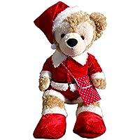 テディベア通販アリス ダッフィー 服 コスチューム (ポシェット付 サンタさん クリスマス Duffy Mサイズ 本体無)