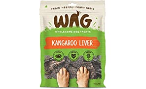 Kangaroo Liver 750g, Grain Free Hypoallergenic Natural Australian Made Dog Treat Chew, Perfect for Training