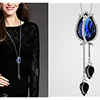BEE&BLUE ネックレス レデイースネックレス セーター 花柄 首飾り アクセサリー