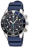 [プロスペックス]PROSPEX 腕時計 PROSPEX ソーラークロノダイバーズ 200m空気潜水用防水 シリコンバンド SBDL049 メンズ