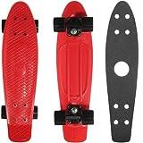 ペニー スケートボード penny skate 22インチ クラシックシリーズ Red PN00207 + 22インチ デッキテープ BLACK PGT-005 [並行輸入品]