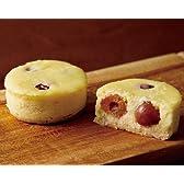 さくらんぼ 佐藤錦使用 無添加手作りのオリジナルスイーツ チーズケーキ(55mm×23mm) 1個