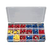 BABAN 300個セット 絶縁圧着端子セット 被覆 端子 絶縁キャップセット 箱の寸法:208x 110x 35mm 20.8×11×3.5cm Y2