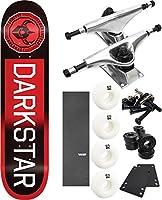 "DarkstarスケートボードTimeworks Fadeスケートボード8"" x 31.6"" Complete Skateboard–7項目のバンドル"