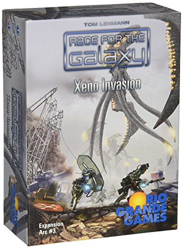 Race For The Galaxy: Xeno Invasion [並行輸入品]