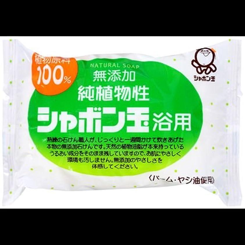 パフ治療ロバ【まとめ買い】シャボン玉 無添加 純植物性 シャボン玉浴用石けん 純植物性 100g ×2セット