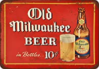 1937Old Milwaukee Beer Reproduction Metal Sign 8x 12