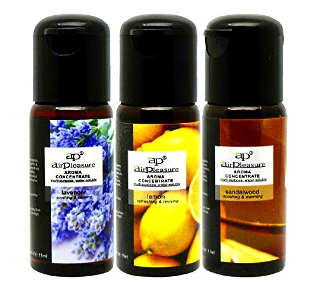 借りているコンパス激しいSenesce Aromatic Factory Aromatherapy Essential Oil 水溶性アロマオイル ラベンダー?レモン?サンダルウッド 15ml×3本セット アロマオイル 【アロマディフューザー...