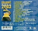 Grammy Nominees 2003 画像