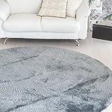 なかね家具 ふわふわ 洗えるシャギー ラグ すべり止め 床暖対応 シャギーラグマット ほっとカーペット対応 長方形 130×185 グレー 583rarujyu