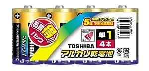 東芝 アルカリ電池 お買得パック LR20AG 4MP