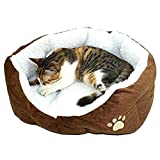 (チ-ンスン) Qingsun 上品 ペットクッション ソファ ペット? ふわふわ  犬/猫ハウス  秋冬 ペットベッド 休憩所 洗える