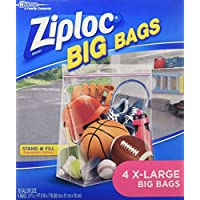 Johnson S C Inc65644Ziploc Big Storage Bag-XL ZIPLOC BIG BAGS (並行輸入品)