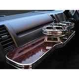 VERONAフロントテーブル ハイエース&レジアスエース 200系 標準ボディ ブラックウッド(黒木目)