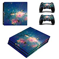 Zhhlinyuan 安定した品質 Skin Sticker Vinyl ステッカー Cover for PlayStatio PS4 Pro Console+Controllers 0098