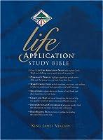 Life Application Study Bible: King James Version, Navy, Leather Like