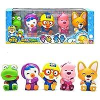 [ポロロ] ポロロと友達風呂のおもちゃ(5個) Pororo & Friends Bath Toy (5pcs) [並行輸入品]