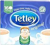 Tetley Tea Original - 160 Bags / 500g (テトレー ティーバッグ 160袋) 【海外直送品】【並行輸入品】