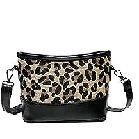 7f2f85e43d38 Kwok Women Casual Small Bag Tide Leopard Shoulder Bag Wild Messenger Bag  Crossbody Bag Leisure Bag