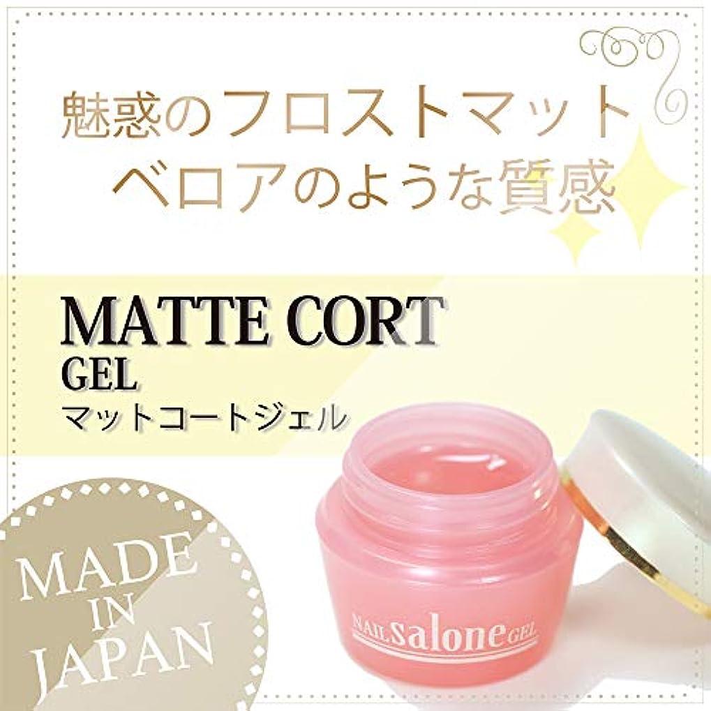 棚非常に騒Salone マットコートジェル 3g