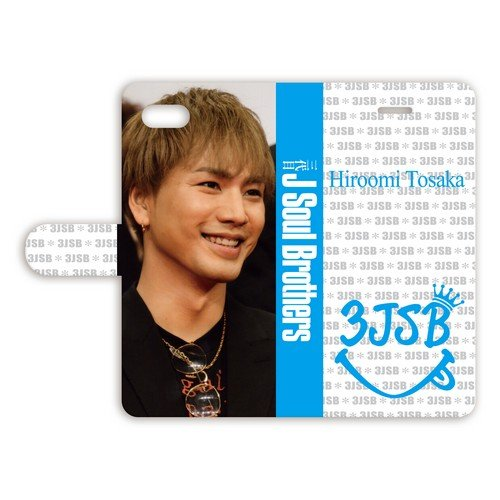 iPhone6/6s 手帳型ケース 【登坂広臣】 010...