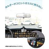 hitechparts SMART MOUNT スマートフォン車載ホルダー ブラック