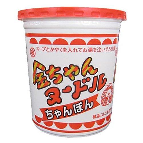 徳島製粉 金ちゃんヌードル ちゃんぽん(太麺) 77g×12個