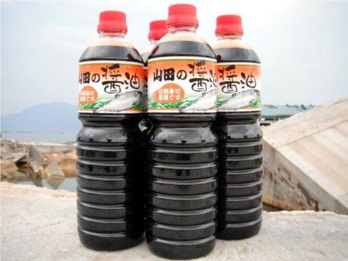 びはんコーポレーション 山田の醤油(1L×6本セット)