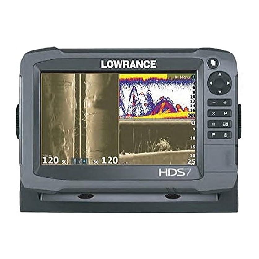 腕負担勇気【LOWRANCE/ロランス】HDS-7 Gen3 Touch 全国簡易海図AT5付き 魚群探知機