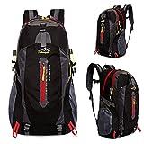 登山リュック バックパック 軽量 40L 多機能 通学 旅行 防災用 背中通気 防撥水 スポーツバッグ