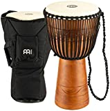 MEINL Percussion マイネル ジャンベ Original African Style Rope Tuned Wood Djembe 12
