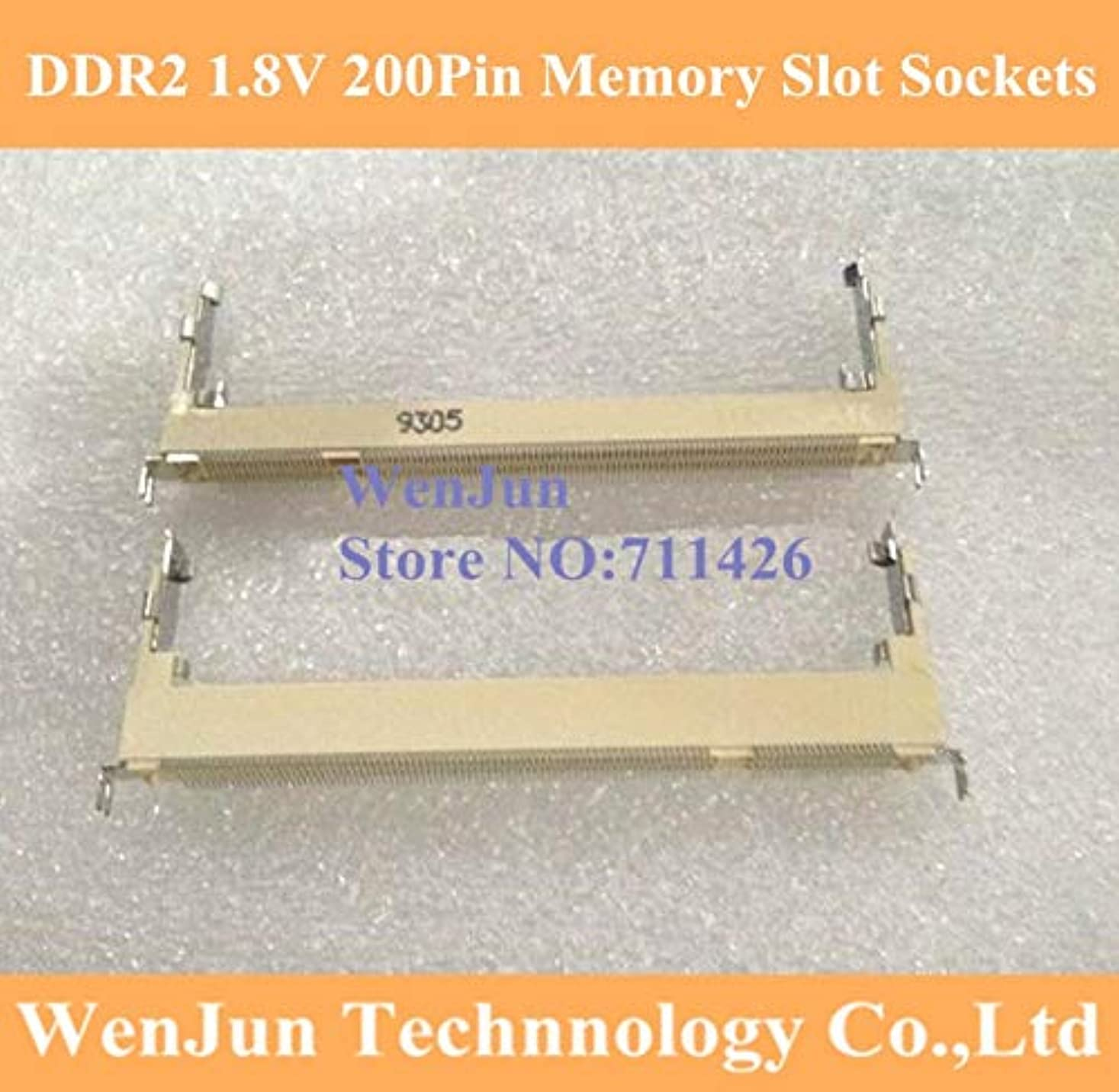 餌作成するクリスマスコンピューターケーブル Foxconn DDR2 1.8V 200ピン 5.2H コネクター ノートパソコン メモリースロットソケット 2200ピン フォワード YTN-C0FADBD04670EAD3A80ED4B25EFDCCC5