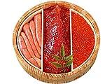 魚卵セット (鶴) ぎょらん詰合せいくら・たらこ・さけすじこ イクラ醤油漬け・鮭筋子・塩たら子 (北海道産いくら醤油漬・鮭スジコ・塩タラコ) 北海の魚卵