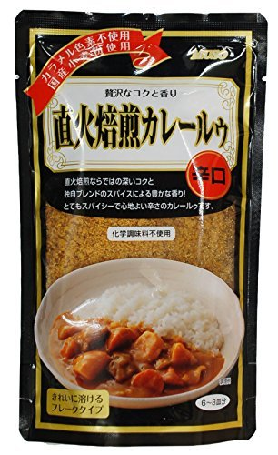 ムソー 直下火焙煎カレールゥ(辛口) 170g ×4セット