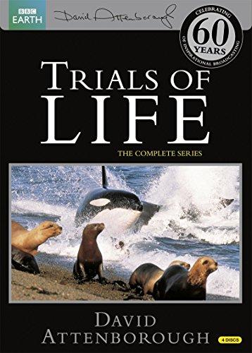 Trials of Life -生命の試練- DVD-BOX (12エピソード, 583分) BBC EARTH ライフシリーズ / デイビッド・アッテンボロー [DVD] [Import] [PAL, 再生環境をご確認ください]