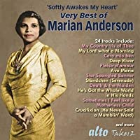 Softly Awakes My Heart: Very Best Of Marian Anderson by Marian Anderson (2016-02-10)