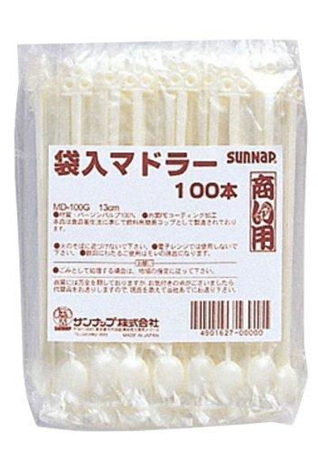 Sunnap サンナップ 商い用マドラー袋入り 100個入