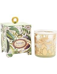 ミッシェルデザインワークス アロマキャンドル (アボカド) 香り:ハーバルアボカド MD-CAN259