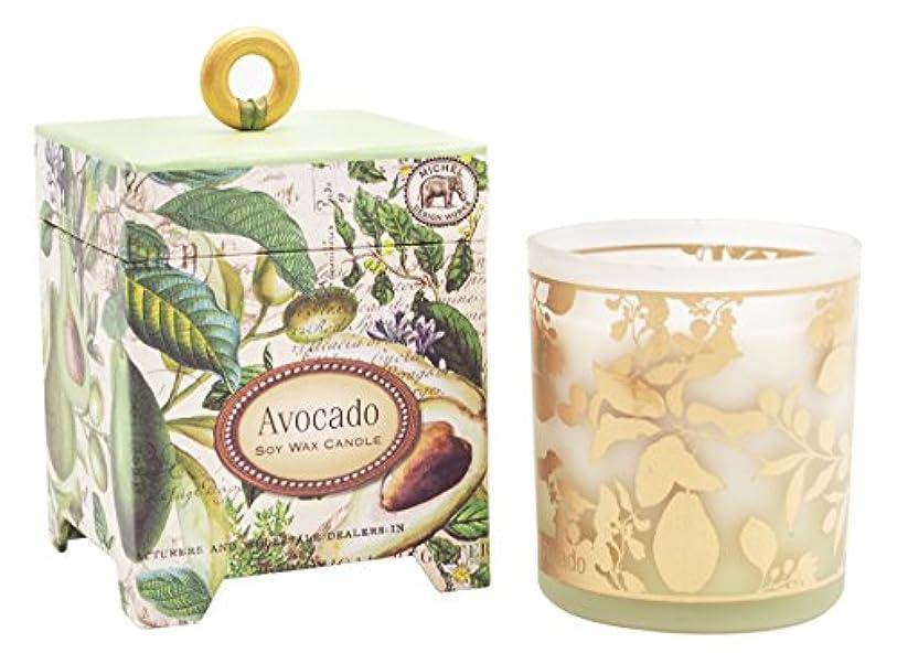 扱いやすいソブリケット裁判所ミッシェルデザインワークス アロマキャンドル (アボカド) 香り:ハーバルアボカド MD-CAN259