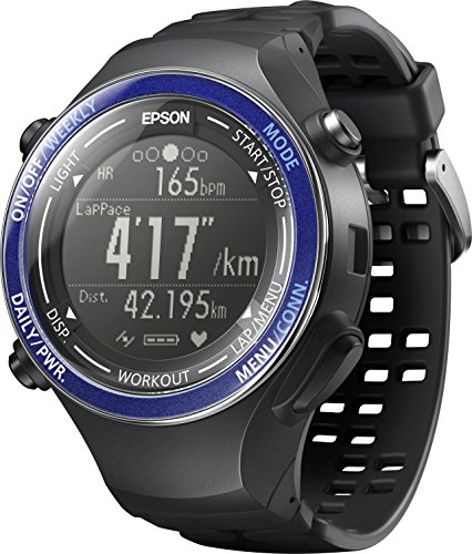 [エプソン リスタブルジーピーエス]EPSON Wristable GPS 腕時計 ランニングウォッチ GPS機能 脈拍計測 SF-850PS