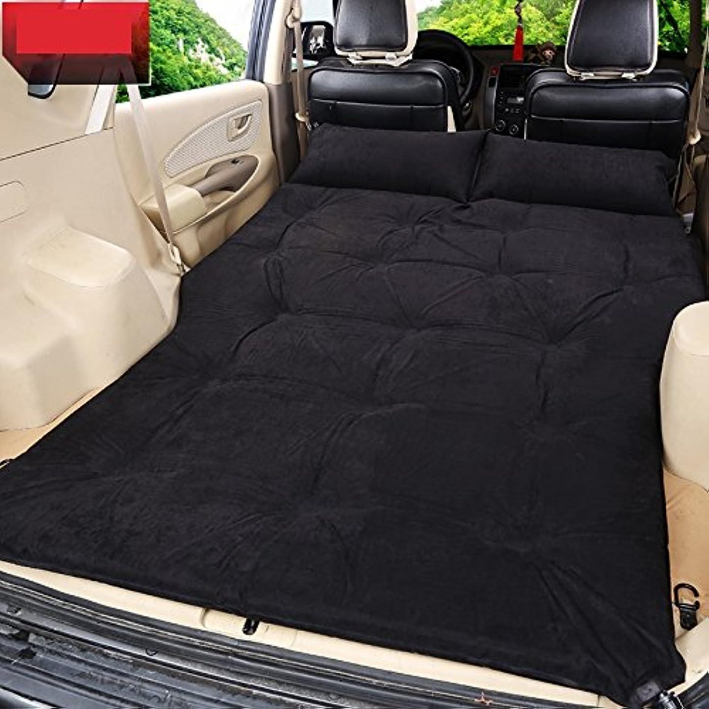 リースなだめる満たすGYP インフレータブルベッドSuvの車のベッド、屋外の寝台マットトラベルベッドの車のマットキャンプモイストプルーフパッドポータブル折り畳み旅行休暇の自動車用品190 * 126センチメートル ( 色 : #4 )