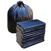10個大きなサイズのゴミ袋ゴミ箱ホームホテルクリーニングバッグ大きなゴミ袋65 X 75cm (Capacity : 65 x 75cm 15g, Color : Black)