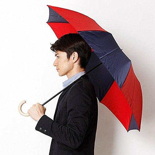 マッキントッシュ フィロソフィー(MACKINTOSH PHILOSOPHY) 折りたたみ傘(手開きタイプ。男女兼用)【レッド/55】