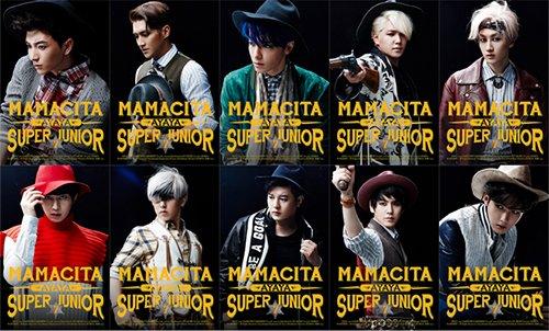 SUPER JUNIOR 正規7集 MAMACITA (韓国盤)(SJ特別特典付)(ワンオンワン店限定)