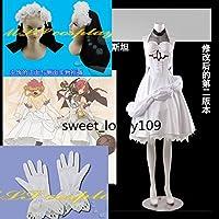 Fate/Grand Order フランケンシュタインドレス コスプレ衣装+バニエ+頭の巾++靴下+手袋+髪飾り 全セット