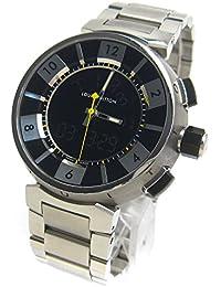 [ルイヴィトン]LOUIS VUITTON 腕時計 Q118F タンブール クロノ インブラック メンズ 中古